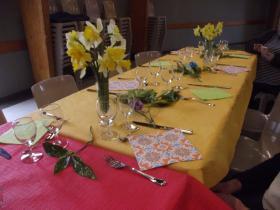 21 mars : ARLA  Repas du printemps